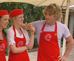 MasterChef Contestants Hayden Quinn and Ellie Paxton-Hall Caught Holding Hands During Tag Team Challenge