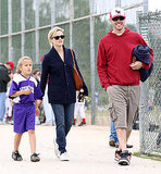 Reese Witherspoon Teams Up With Ryan and Jim to Cheer on Deacon