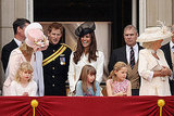 Prince William and Kate Middleton at the Trooping the Colour