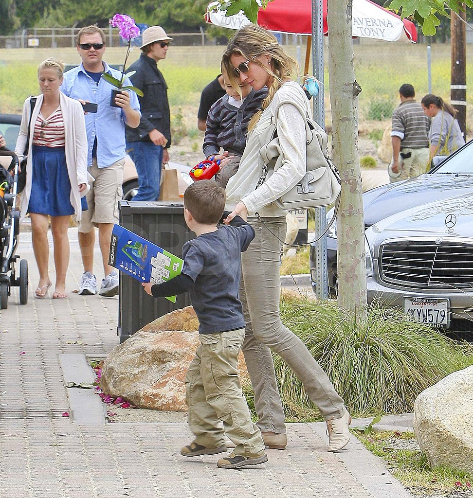 Tom Brady and Gisele Bundchen Make a Father's Day Trip to Malibu