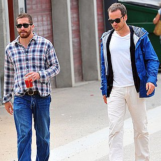 Jake Gyllenhaal Pictures at Lunch With Peter Sarsgaard