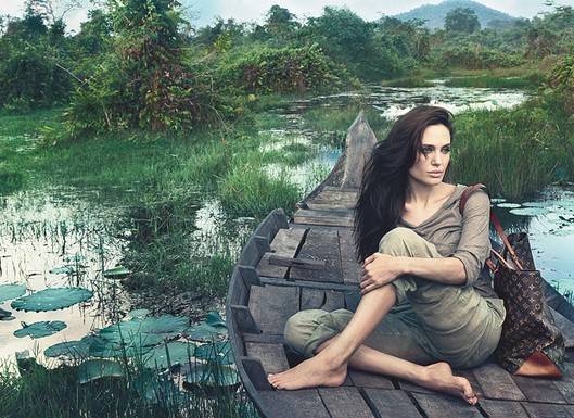 See Angelina Jolie's New Ad For Louis Vuitton!
