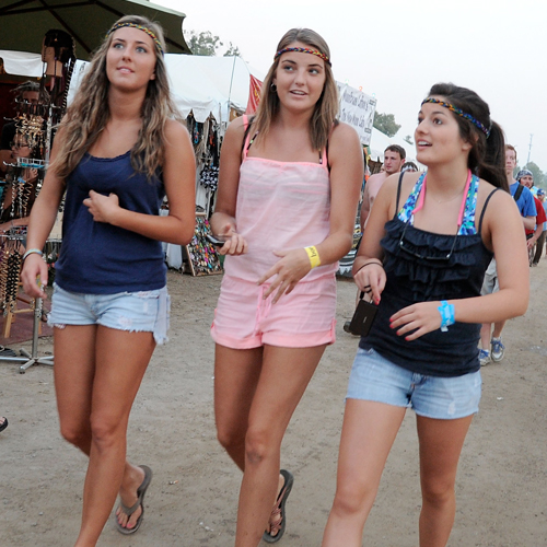 Bonnaroo Festival: Hot Weekend, Cool Style