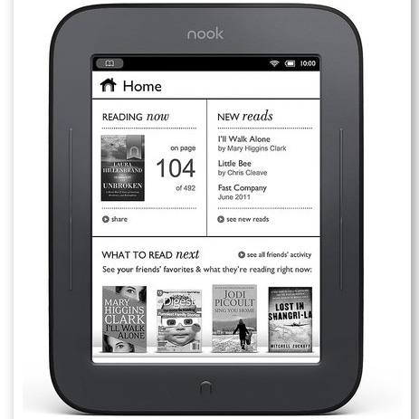 Nook Simple Touch Reader ($139)