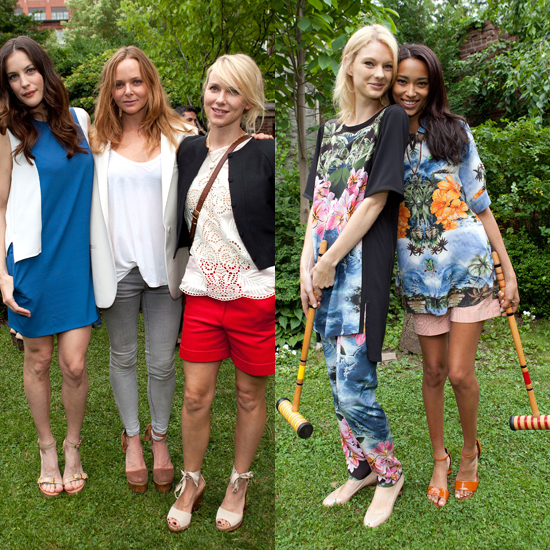 Stella McCartney Throws a Garden Party to Show Resort 2012
