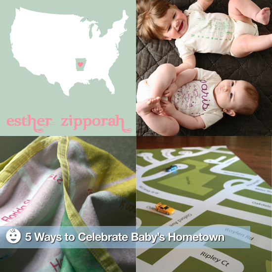 5 Ways to Celebrate Baby's Hometown