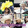 Princesses Beatrice's and Eugenie's Hats at Royal Ascot