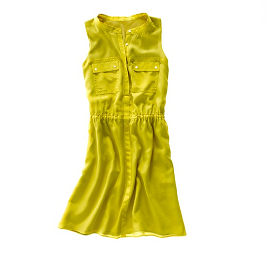 Madewell Silk Safari Dress, $155
