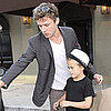 Ryan Phillippe and His Son Deacon Grab Lunch at Craig's in LA