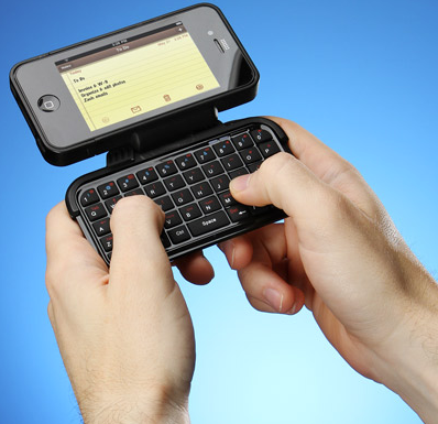 iPhone Case With Flip-Out Keyboard ($39)