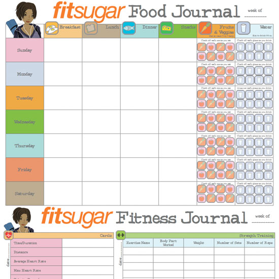 Do You Keep a Food or Fitness Journal?