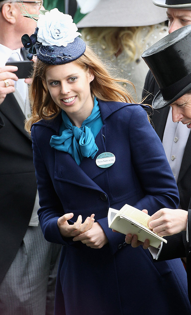 Princess Beatrice and Queen Elizabeth Welcome the Middletons to Ascot!