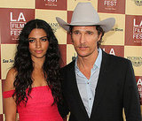 Matthew McConaughey Goes Country For a Film Festival Red Carpet With Camila