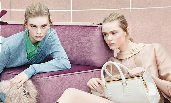 A First Look at Prada's Fall 2011 Campaign
