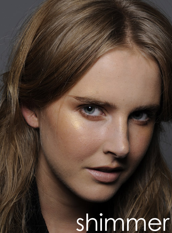Sun Kissed Bring in the light with shimmering bronzers and glimmering highlighters. Apply to the tops of cheekbones for an instant lift.    Thakoon Spring 2011, Photo by Greg Kessler