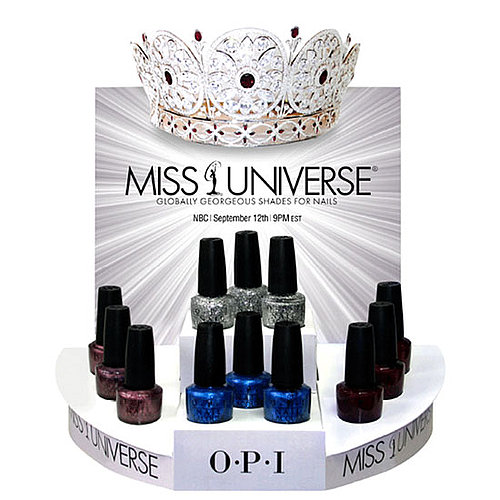 OPI Launches Miss Universe Nail Polishes