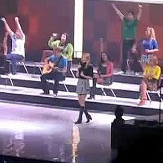 Gwyneth Paltrow Video Performing on the Glee Tour