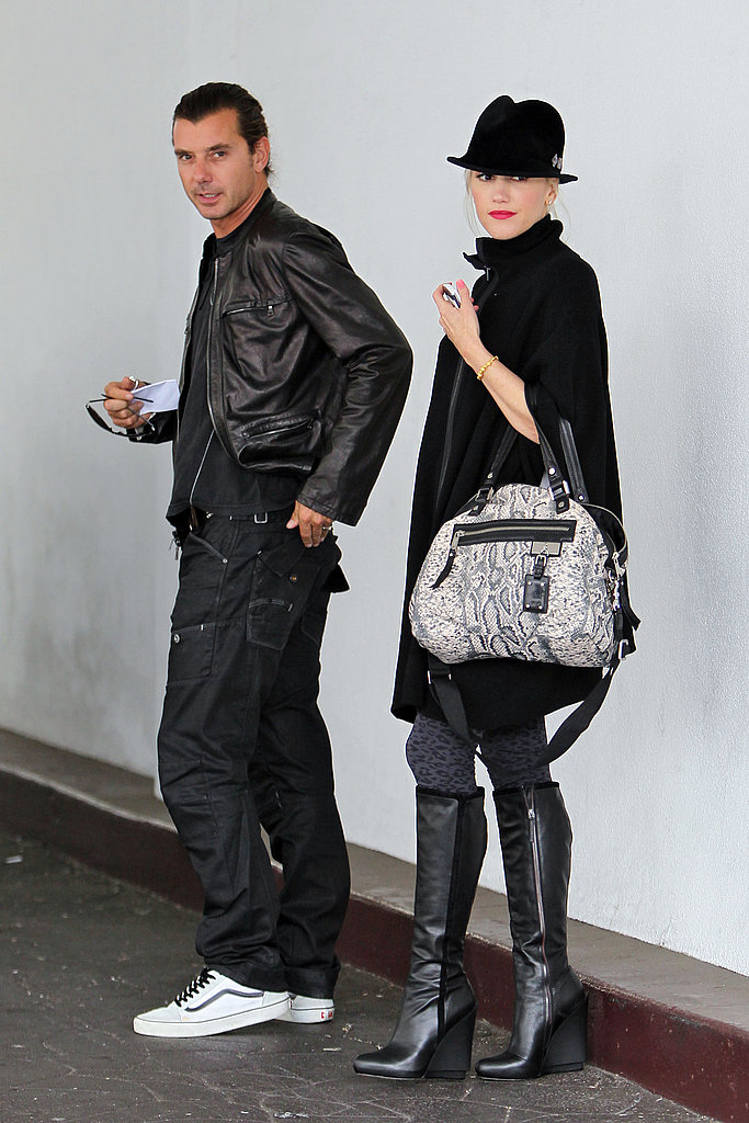 Gwen Stefani and Gavin Rossdale Treat Kingston to Dinner as a Trio