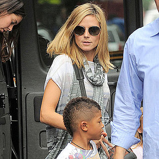 Heidi Klum Pictures With Her Kids in NYC