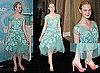 Pictures of Elle Fanning in Marc Jacobs at the 2011 Women In Film Crystal and Lucy Awards in LA