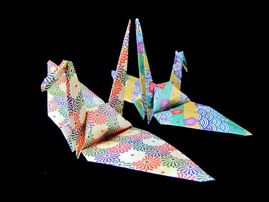 Origami Cranes