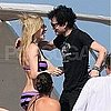 Avril Lavigne Bikini Pictures With Deryck Whibley in France
