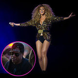 Beyoncé Knowles Takes the Stage at Glastonbury With Jay-Z in the Crowd!