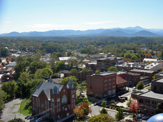 7. Asheville, NC