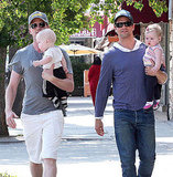 NPH and David Burtka Do Dinner With the Twins For Their First Father's Day