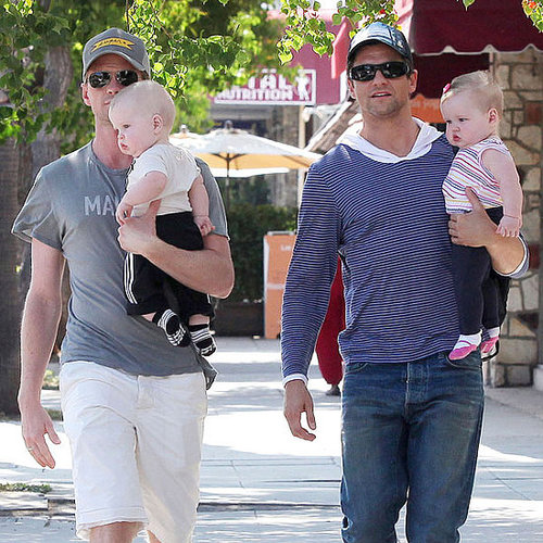 Pictures of Neil Patrick Harris and David Burtka With Twins