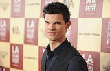 Taylor Lautner showed up to the A Better Life screening in LA.