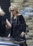 Kate Moss Gets Down to Work Following Some Prewedding Fun