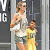 Pictures of Heidi Klum in NYC With Leni, Lou, Henry, and Johan 2011-06-22 03:02:00