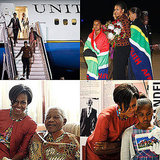 Pictures From Michelle Obama's Africa Trip With Daughters