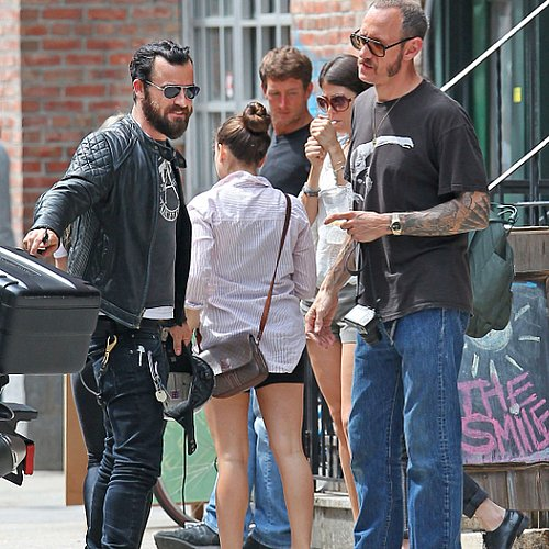 Justin Theroux and Terry Richardson Pictures