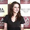 Kristen Stewart and Taylor Lautner at the Los Angeles Film Festival [Video]