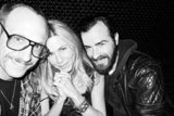 Jennifer Aniston and Justin Theroux with Terry Richardson.