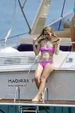 Avril Lavigne Makes a Splash in Her Pink Bikini