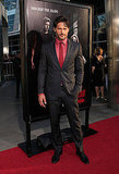 Bon Temps werewolf Joe Manganiello suited up for the Hollywood premiere of True Blood.