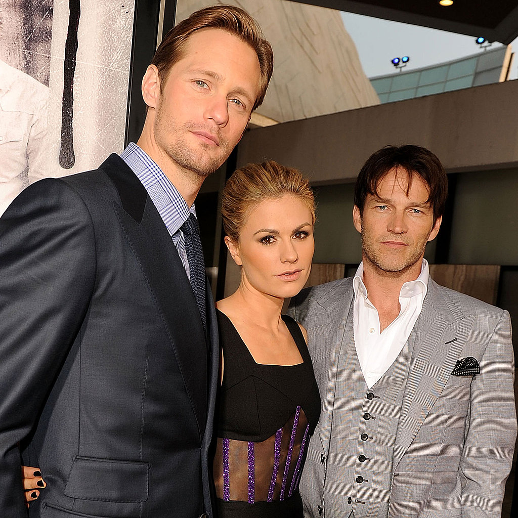 Alexander Skarsgard and Costars Premiere True Blood