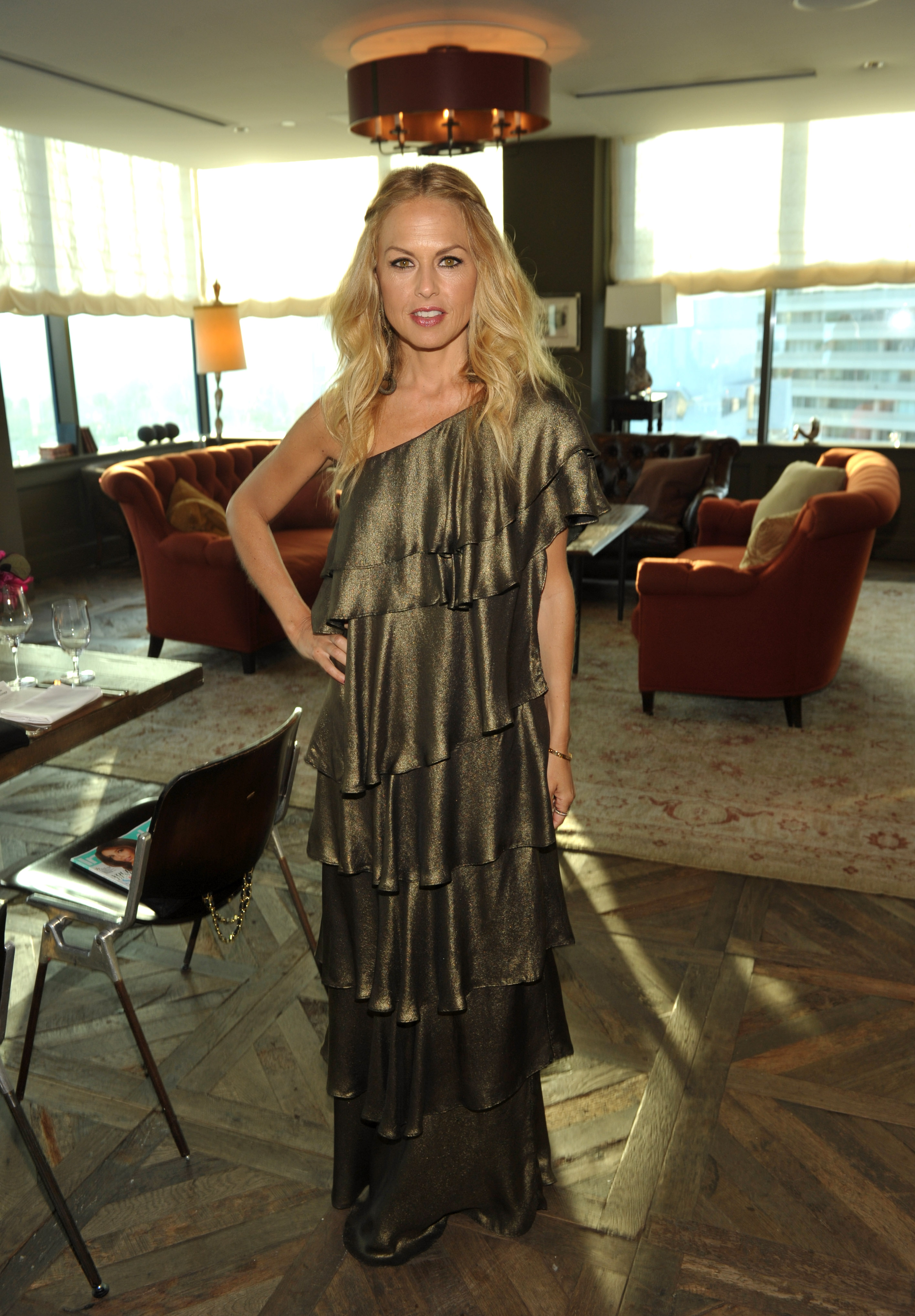 Rachel Zoe attended a party for her line at LA's Soho House.