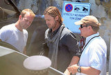 Brad Pitt left the Malta set of World War Z.