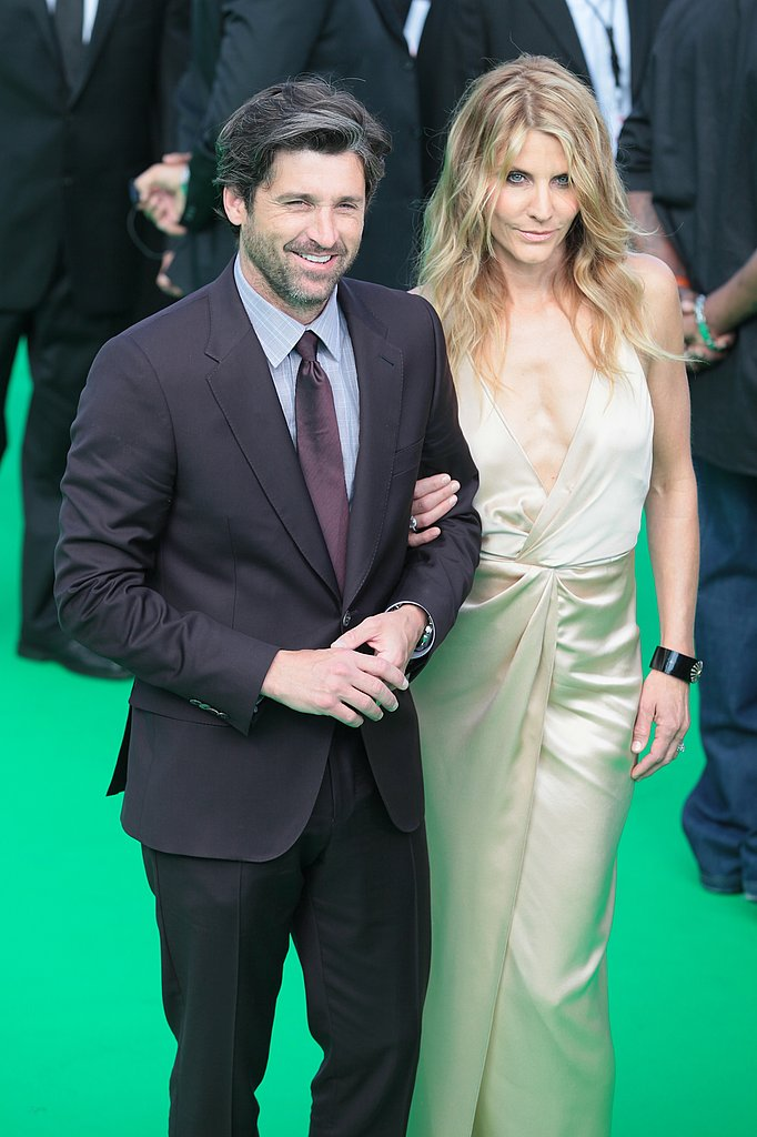 Patrick Dempsey and Jillian Dempsey arrived to the Moscow premiere arm in arm.