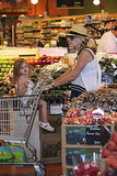 Busy Philipps and Birdie checked out the produce at Whole Foods.