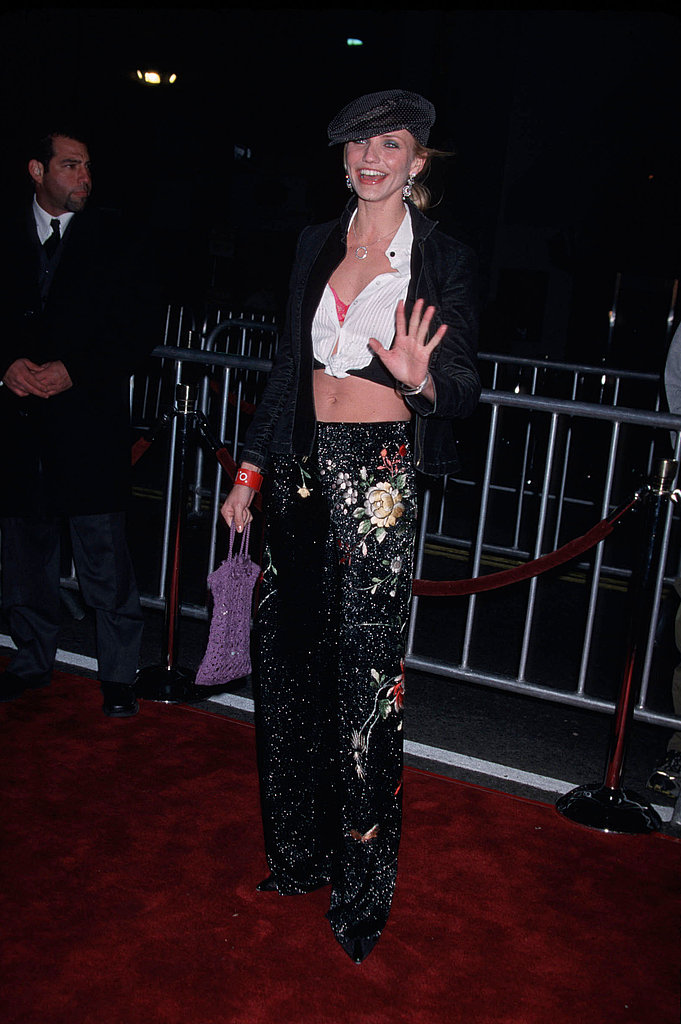 At the Vanilla Sky premiere in '01, Cam opted for a belly-baring knotted top.