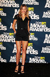 A sultry take on a romper for the MTV Movie Awards in 2011.