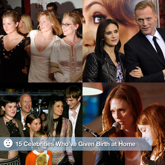 Celebrities Who Have Chosen Home Births