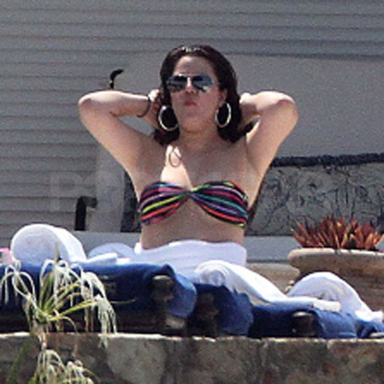 Bikini-Clad Khloe Kardashian and Lamar Odom Strip Down During a Romantic Trip to Mexico
