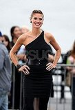 Heidi Klum showed off her supermodel style in NYC.