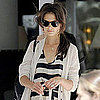 Katie Holmes Leaving Lunch in Miami